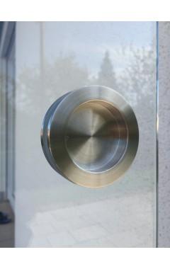 Griffmuschel im Glas
